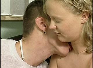 Schwangere bläst