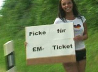 Ficke für EM-Ticket