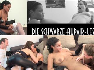 Die schwarze bisexuelle Lana