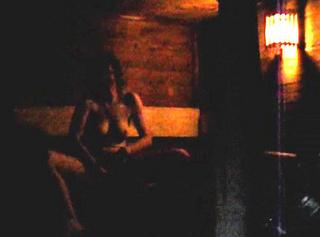 In der öffentlichen Sauna