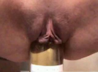 Flaschenfick und squirt